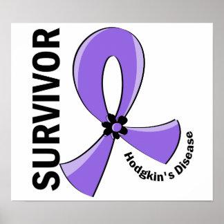 Superviviente 12 de la linfoma de Hodgkin Posters