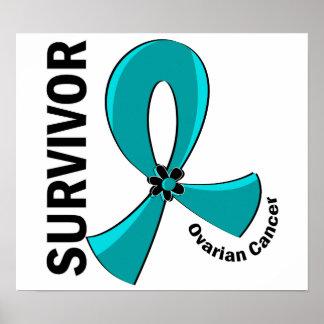 Superviviente 12 del cáncer ovárico impresiones