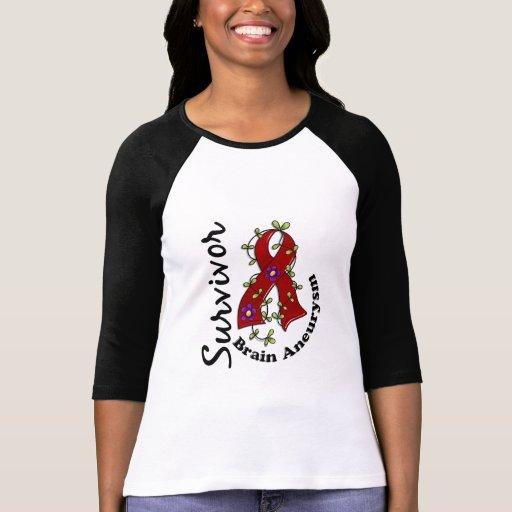 Superviviente 15 del Aneurysm del cerebro Camiseta