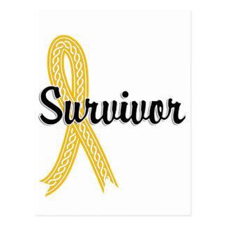 Superviviente 17 Neuroblastoma Tarjetas Postales