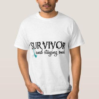 Superviviente 18 del cáncer de cuello del útero poleras