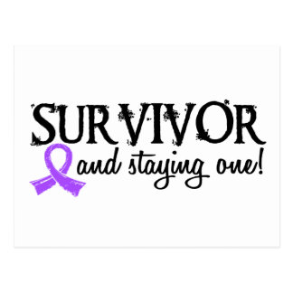 Superviviente 18 del linfoma de Hodgkin Tarjetas Postales