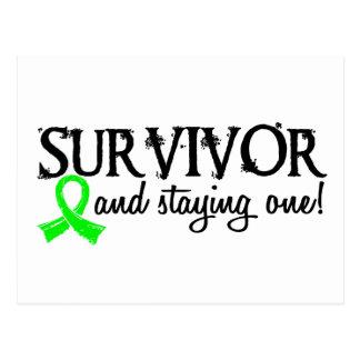 Superviviente 18 del linfoma tarjetas postales