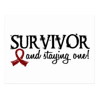 Superviviente 18 del mieloma múltiple postales