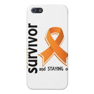 Superviviente 19 del cáncer del riñón iPhone 5 carcasas