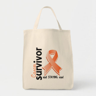 Superviviente 19 del cáncer endometrial bolsa tela para la compra