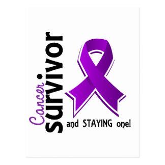 Superviviente 19 del cáncer pancreático tarjetas postales
