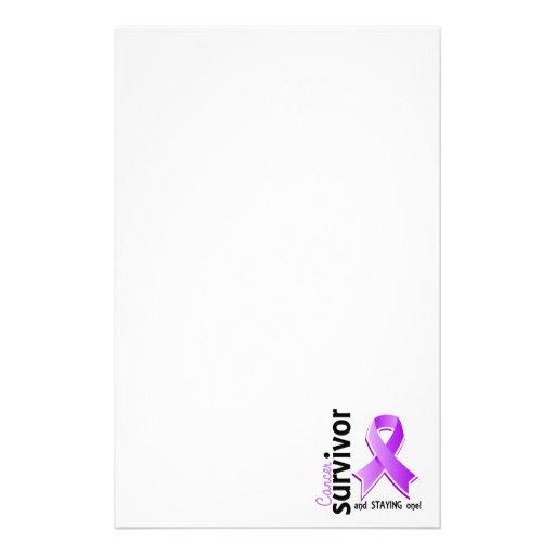 Superviviente 19 del cáncer  papeleria de diseño