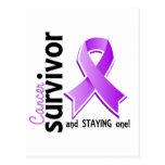 Superviviente 19 del cáncer postal
