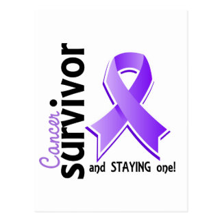 Superviviente 19 del linfoma de Hodgkin Tarjetas Postales