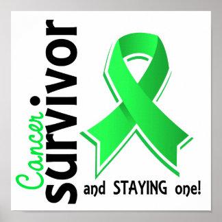 Superviviente 19 del linfoma Non-Hodgkin Impresiones