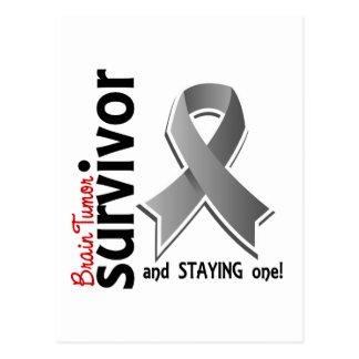 Superviviente 19 del tumor cerebral tarjeta postal