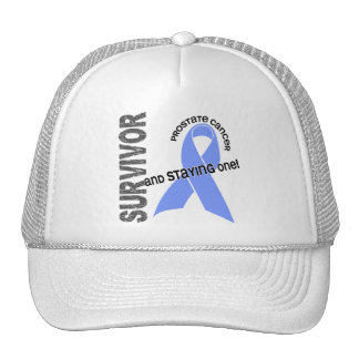 Superviviente 1 del cáncer de próstata gorro