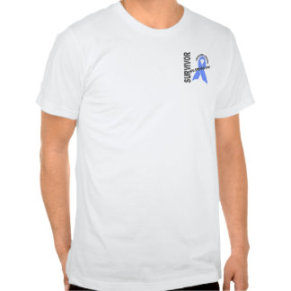 Superviviente 1 del cáncer de próstata t shirts