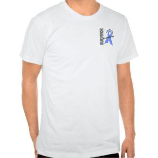 Superviviente 1 del cáncer de próstata camiseta
