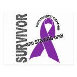 Superviviente 1 del cáncer pancreático postal