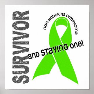 Superviviente 1 del linfoma Non-Hodgkin Póster