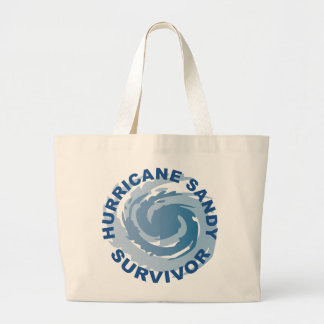 Superviviente 2012 de Sandy del huracán Bolsa Lienzo