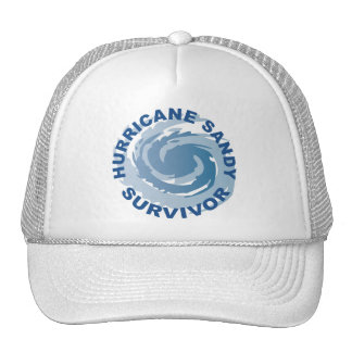 Superviviente 2012 de Sandy del huracán Gorro