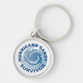 Superviviente 2012 de Sandy del huracán Llaveros Personalizados