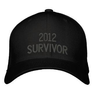 Superviviente 2012 gorras de beisbol bordadas