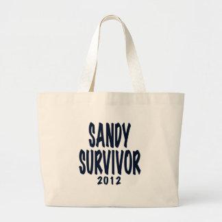 SUPERVIVIENTE 2012, negro, regalos de SANDY del su Bolsas