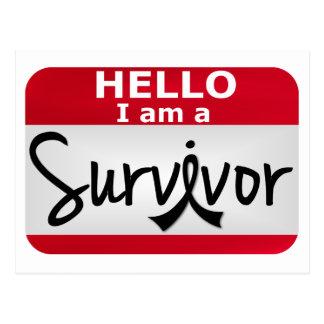 Superviviente 24.png del cáncer de piel postales