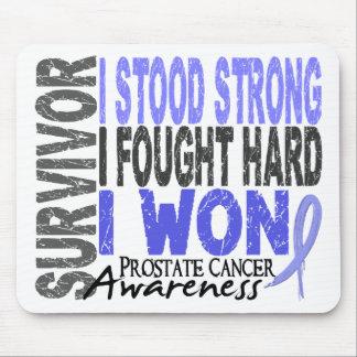 Superviviente 4 del cáncer de próstata mousepads