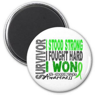Superviviente 4 del linfoma Non-Hodgkin Iman Para Frigorífico