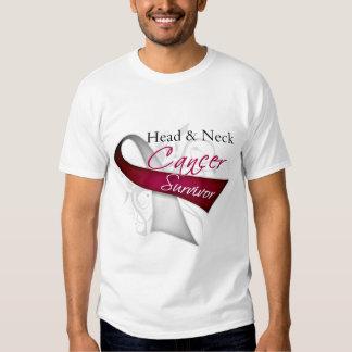 Superviviente - cáncer de cabeza y cuello polera