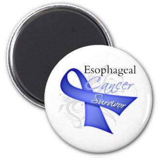 Superviviente - cáncer del esófago iman de frigorífico