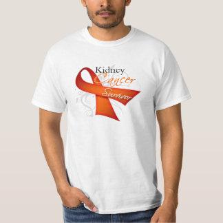 Superviviente - cáncer del riñón playeras