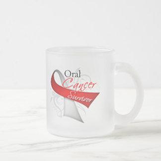 Superviviente - cáncer oral taza