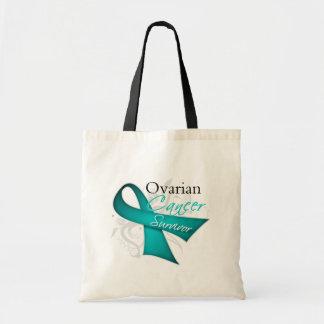 Superviviente - cáncer ovárico bolsa tela barata