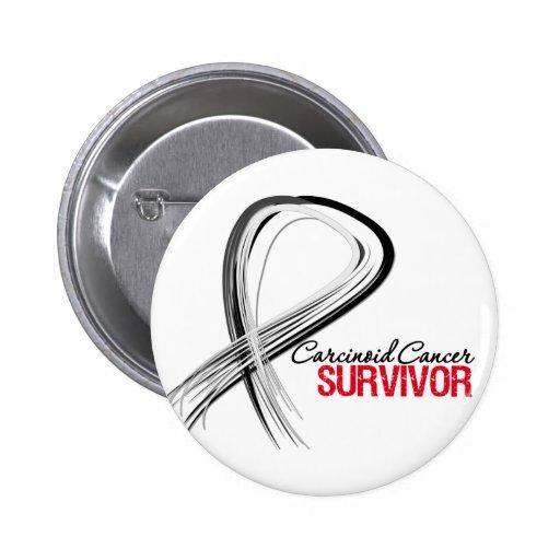 Superviviente carcinoide del cáncer de la cinta de pin