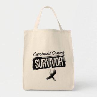Superviviente carcinoide fresco del cáncer bolsa