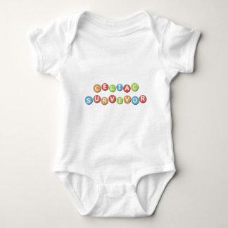 Superviviente celiaco body para bebé