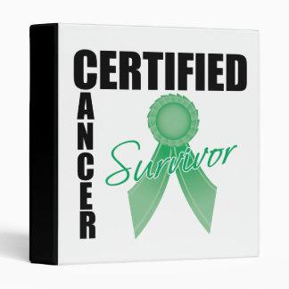 Superviviente certificado del cáncer - cáncer de h