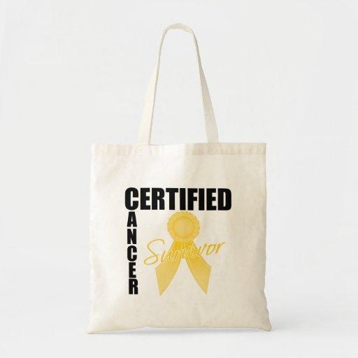 Superviviente certificado del cáncer - cáncer de l bolsa