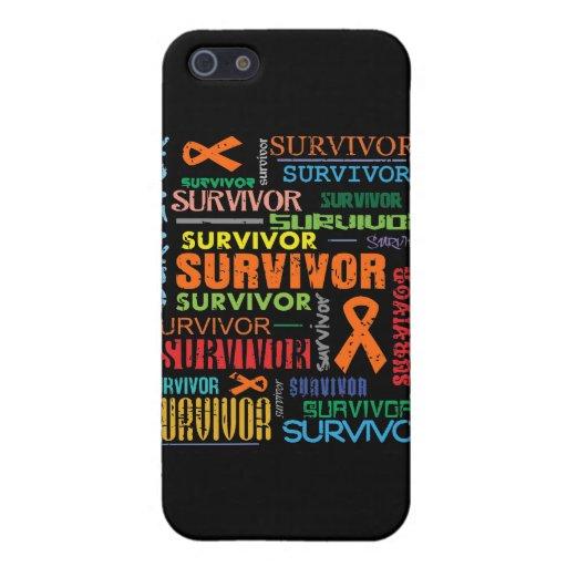 Superviviente Collage.png del cáncer del riñón iPhone 5 Cárcasa