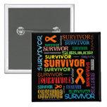 Superviviente Collage.png del cáncer del riñón Pin