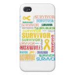 Superviviente Collage.png del sarcoma iPhone 4 Protector