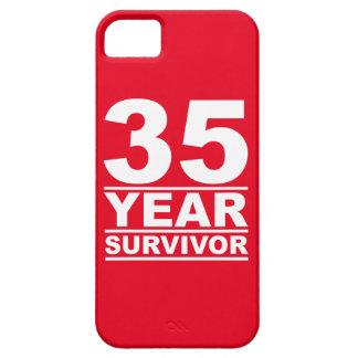 superviviente de 35 años funda para iPhone 5 barely there
