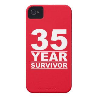 superviviente de 35 años iPhone 4 cobertura