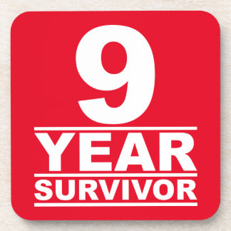 superviviente de 9 años posavaso