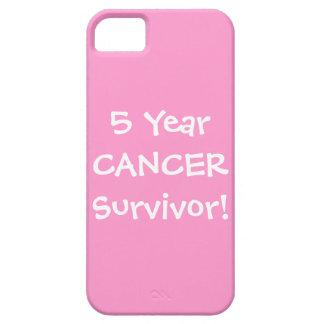 Superviviente de cinco años del cáncer iPhone 5 fundas