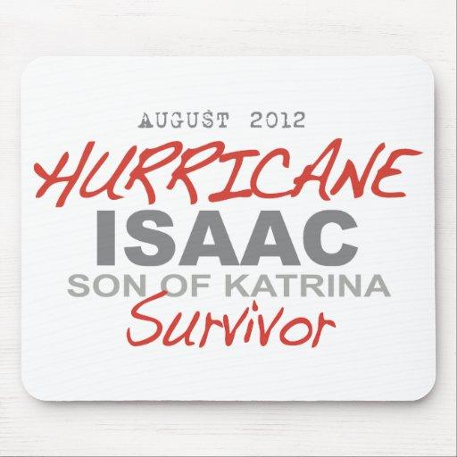 Superviviente de Isaac del huracán Tapetes De Ratones