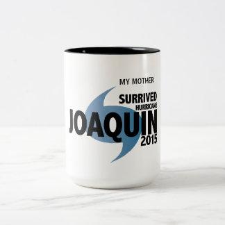 Superviviente de Joaquín del huracán Taza De Dos Tonos