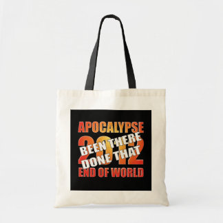 Superviviente de la apocalipsis bolsa tela barata