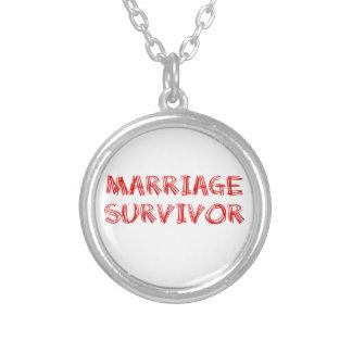 Superviviente de la boda - 1 - rojo colgante